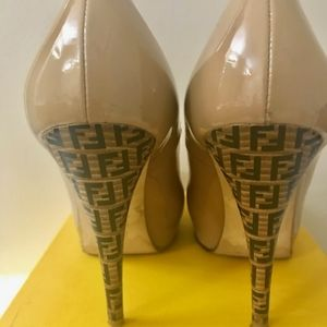 Authentic Fendi heels.  EU Size 40 (US size 8.5).